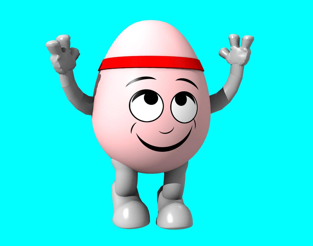 3D Egg Character Generation